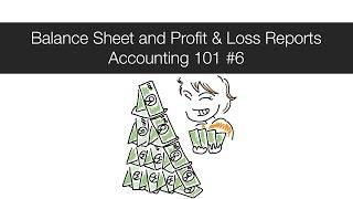 Balance Sheet and Profit & Loss Reports - Accounting 101 #6