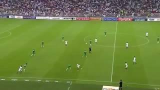هدف السعودية ضد العراق بصوت الجمهور 😍 مع اغنية الله الله يا منتخبنا 💚