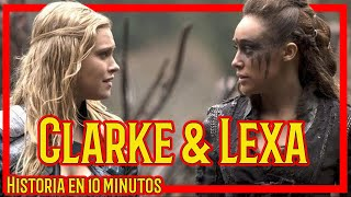 Lexa & Clarke - Su historia en 10 minutos (Sub. english)