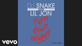 DJ Snake, Lil Jon - Turn Down for What (Audio)