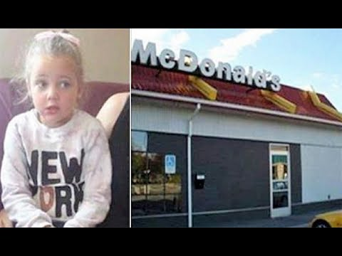 4 yr old rushes out of McDonald s bathroom in tears then mom sees something on her leg