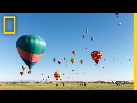 Xxx Mp4 Colorful TimeLapse Of Hot Air Balloons In New Mexico Short Film Showcase 3gp Sex
