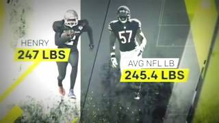 Derrick Henry Vs Ezekiel Elliott ESPN Sports Science