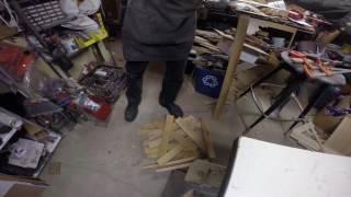 Herring bone Bench part 2