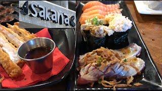 Sakana sushi Las Vegas Review (all you can eat, buffet, baby!)