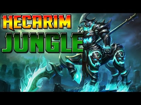 Ich drück einfach Qqqqqqq | Hecarim Jungle | League of Legends