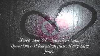 Muskurane ki Wajah Tum Ho   Arijit Singh Lyrics   Youtube   YouTube 720p