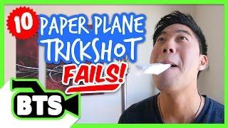 Paper Airplane Fails (BTS)
