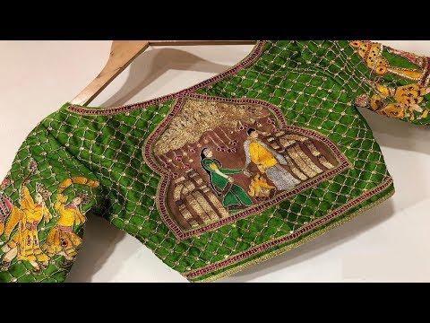 Xxx Mp4 Green Traditional Blouse Designs 3gp Sex