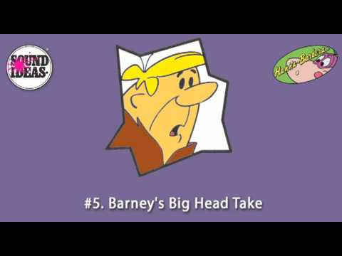 Hanna Barbera Top 10 Sound Effects by Sound Ideas