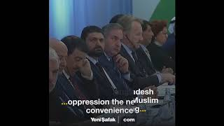 Erdoğan: Muslim world should unite for Rohingya Muslims