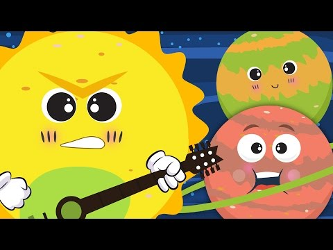 The Planet Song ☀🌛   Nursery