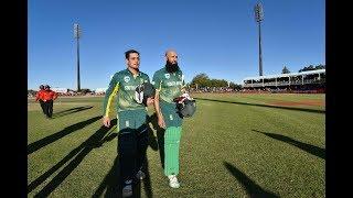 Quinton de Kock, Hashim Amla plunder Bangladesh in 1st ODI