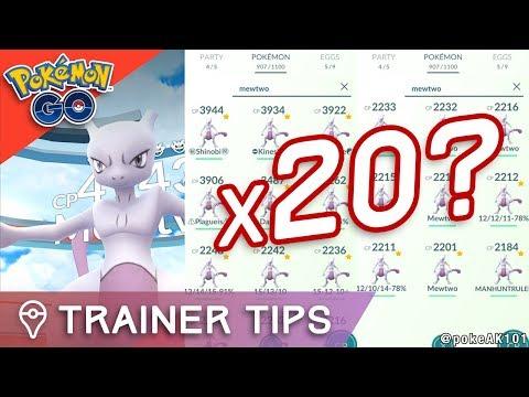 20x MEWTWO IN POKÉMON GO Should Niantic REMOVE EX Raids from Pokémon GO