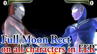 ULTRAMAN COSMOS Full Moon Rect on all characters in FER 1080P HD
