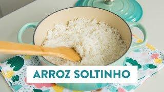 Como fazer arroz soltinho! | O Chef e a Chata