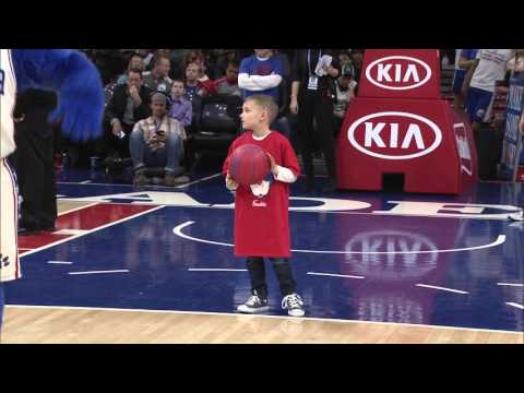 Sixers Kid Dunk Contest