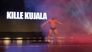 IFBB Pro Kille Kujala Guest Posing @ SKL Iron Rebel Finnish Championships 2018