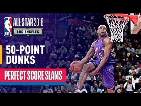 ALL 50 Point Dunks In NBA Slam Dunk Contest History