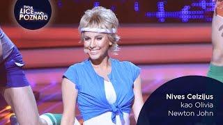 Nives Celzijus kao Olivia Newton John: Physical