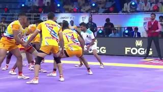 IIPKL top Kabaddi tackles 2019