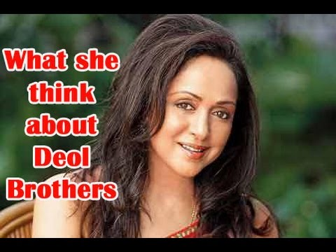 What does Hema Malini think of Sunny Deol and Bobby Deol - TOI