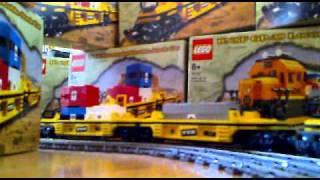 LEGO SANTA FE BNSF 10133 + 10170 TTX - VERY LONG