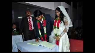 SHUBHAKARAMAINA VIVAHAMULONA-2014 Telugu christian Wedding song by Joy Onesimus