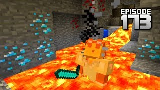 Let's Play Minecraft PE - Ep.173 : 1.1 Cave Adventure!