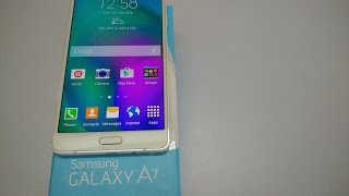 Samsung Galaxy A7 Unboxing and Hands On Overview