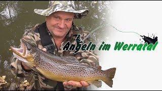 Spinnfischen an der Werra mit Jürgen Erbe