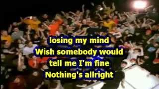 Papa Roach - Last Resort (Karaoke) with silent vocals