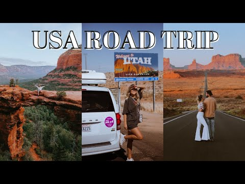 Our South West USA Road Trip Travel Vlog A trip of a lifetime