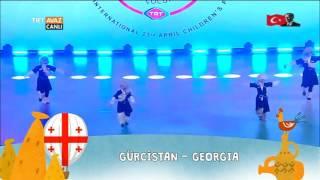 Gürcistan - 23 Nisan 2017 Gösterisi - Nevşehir - TRT Avaz