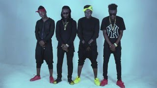 Flowking Stone -Fire bon dem feat. Sarkodie and Shatta Wale. (Official dance video)