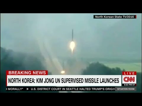 N.Korea's latest missile test: four at a time