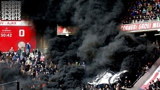 Smoke Bomb INJURES 15 Soccer Fans During Match