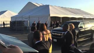 Stana Katic Kate Beckett Castle Actress Greeting Fans Signing Spirit Awards Santa Monica 2016
