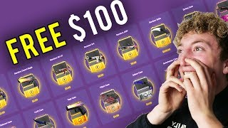THE $100 FREE SKINS SCAM
