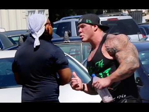 Biggest Bodybuilder RICH PIANA almost BEAT UP & ARRESTED for taking STEROIDS by a Police DRUG Agent!