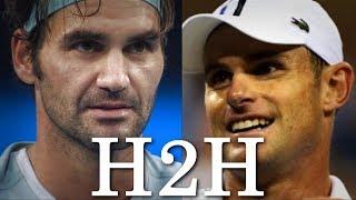 Federer vs Roddick - All 24 H2H Match Points (HD)