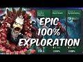 Blood & Venom: Symbiomancer - Epic 100% Exploration!  - Marvel Contest Of Champions
