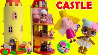 Ben and Holly Little Kingdom Thistle Castle Play Date With LOL Surprise Doll