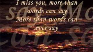 I Miss You * Haddaway * with lyrics