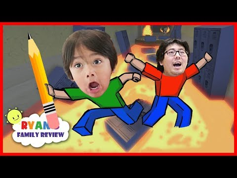 Let s Play Escape from School Obby on Roblox with Ryan s Family Review
