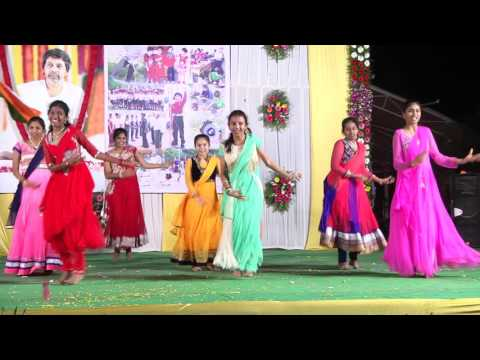Annual Day 2015-16 Dance performance by 10th class girls