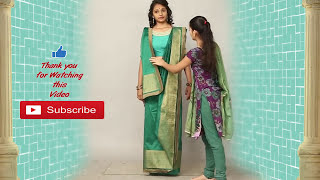 How to Wear Draping bengali saree কিভাবে বাংলা সাডি পড়বেন