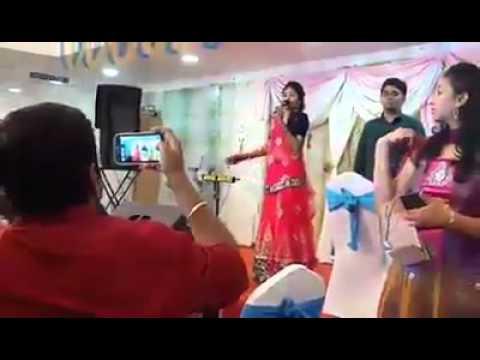 nithyashree's sister's engagement