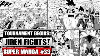 TOURNAMENT OF POWER BEGINS! Dragon Ball Super Manga Chapter 33 Spoilers