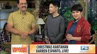 Darren Espanto's Rendition of Oh Holy Night on UKG